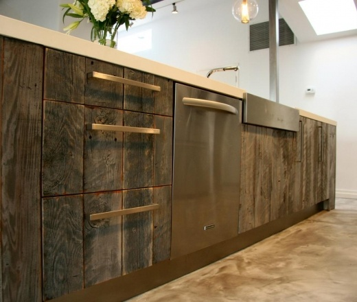 Reclaimed Kitchen Cabinet Taylor Pinterest