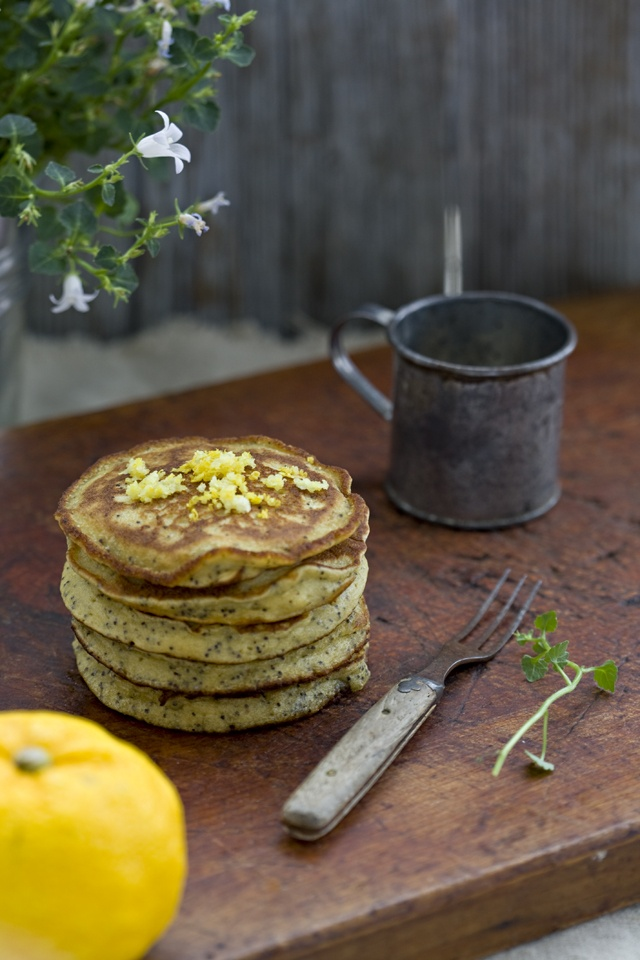 Quinoa and Poppy Seed Pancakes! | Food | Pinterest
