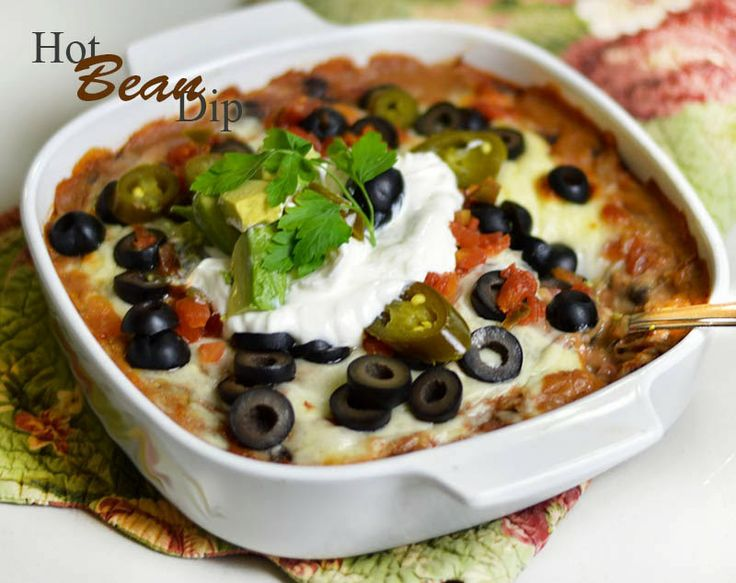 Sweet and Simple: Hot Cheesy Bean Dip Recipe #mexican #party # ...
