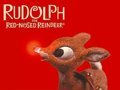 Rudolph the Red Nose Reindeer | cute things | Pinterest