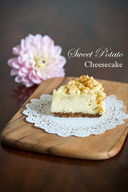 Sweet Potato Cheesecake with Streusel | Cheesecakes | Pinterest