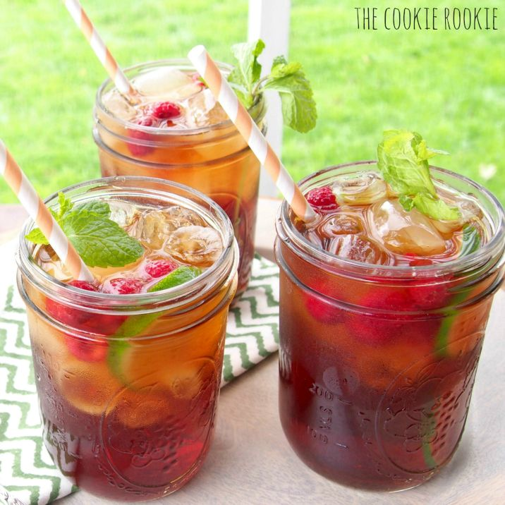 Spiked Raspberry Sweet Tea is the perfect summer treat! So refreshing ...