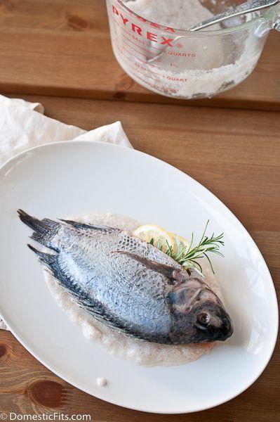 Salt Roasted Whole Fish   Dinner   Pinterest
