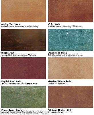 Kemiko stone tone acid stain concrete floor color stains for Concrete floor stain colors
