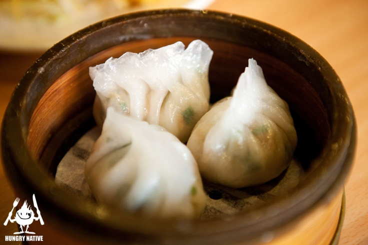 Steamed Pork & Peanut dumplings | Food: Dim Sum | Pinterest