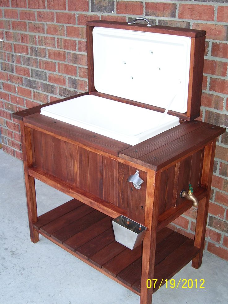 outdoor cooler for the home pinterest