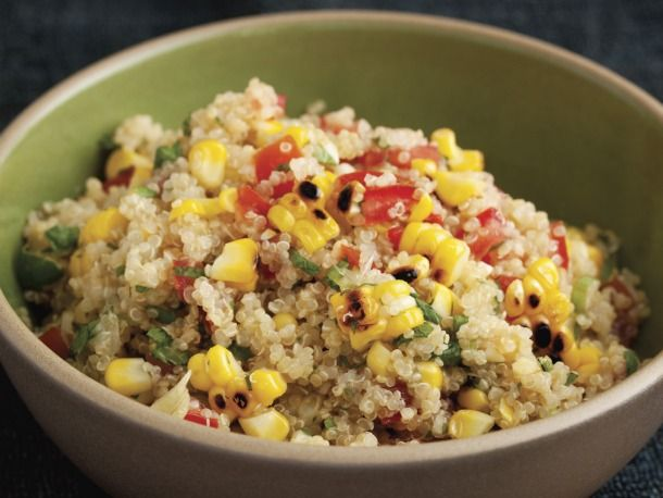 Cook the Book: Grilled Corn and Quinoa Salad   Recipe