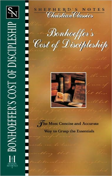 Bonhoeffer s the cost of discipleship nook book