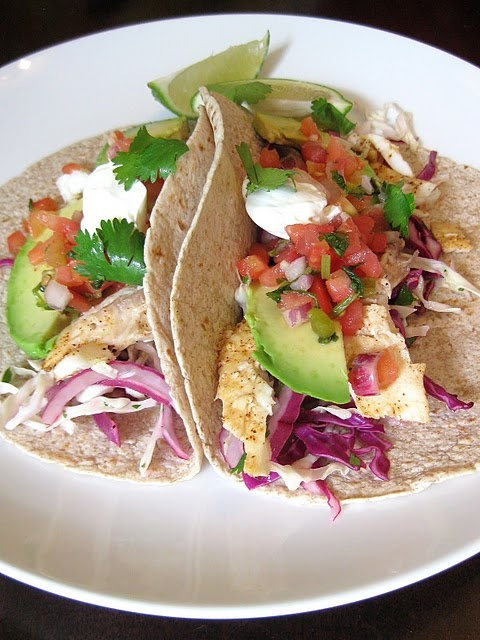 baja fish tacos. i love fish tacos, cheddars is the place to sample ...