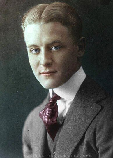 francis scott fitzgerald Writer f scott fitzgerald was born september 24, 1896 fiction writers are often  asked, how much of you is in your characters for writer f scott fitzgerald,.
