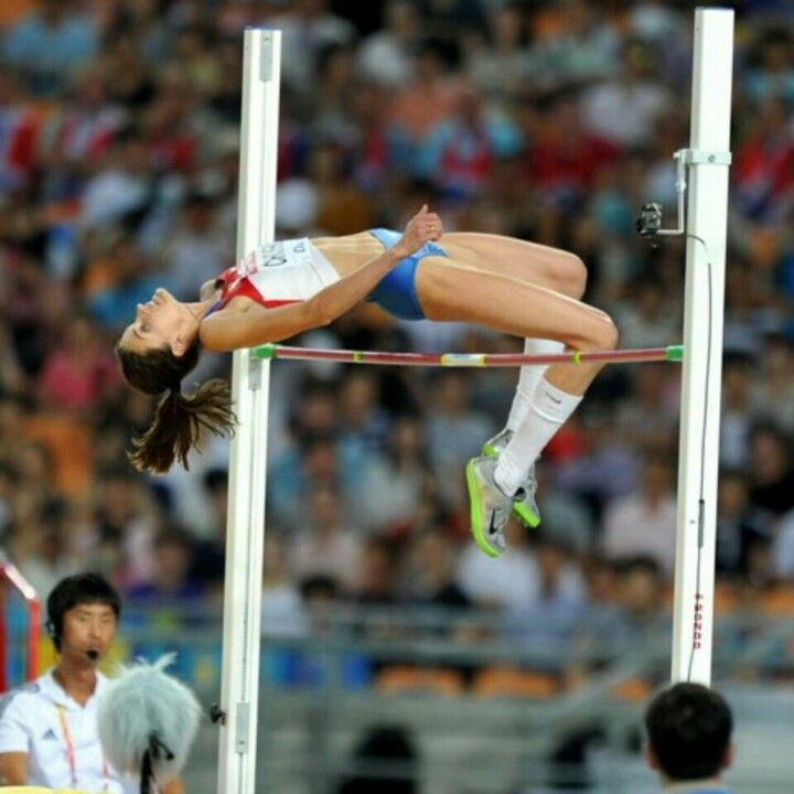 High jump track and field