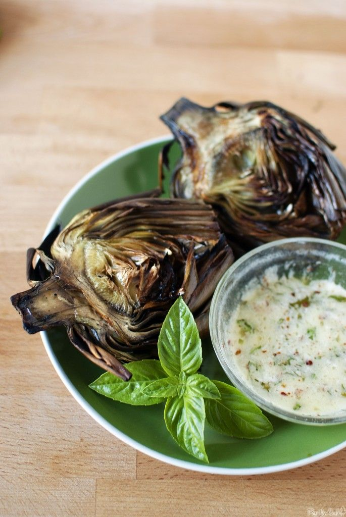 Grilled Artichokes | cookbook | Pinterest