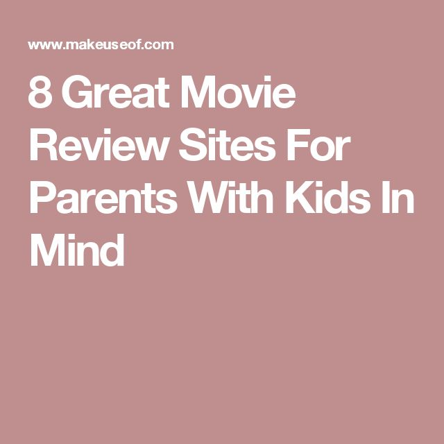 movie rating website for parents