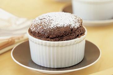 Mini Chocolate Souffle | Yummy Treats | Pinterest