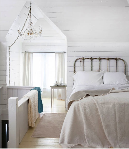 Country Cottage Bedroom Country Living Pinterest