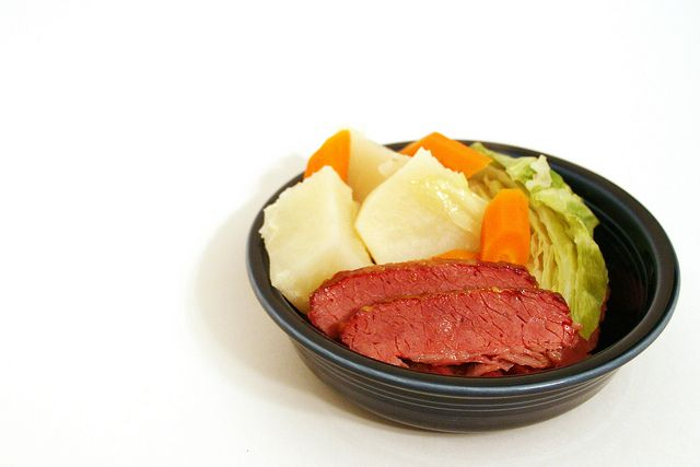 More like this: corned beef , cabbages and beef .
