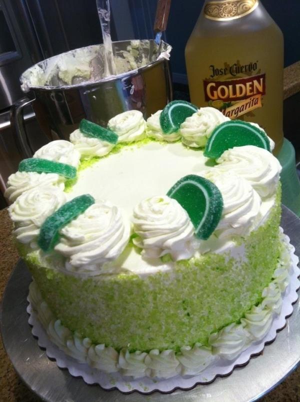 Easy Margarita Cake | cakes | Pinterest