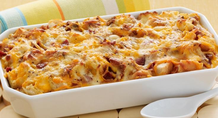 Cheesy Bacon & Egg Brunch Casserole | McCormick