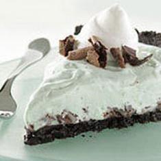 Frozen Grasshopper Pie (via www.foodily.com/r/aVlzGNvBd9-frozen ...