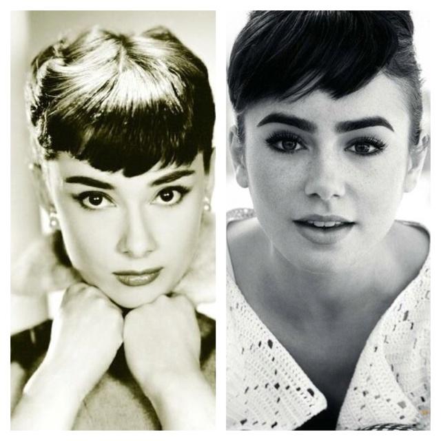 Lily CollinsLily Collins Audrey Hepburn