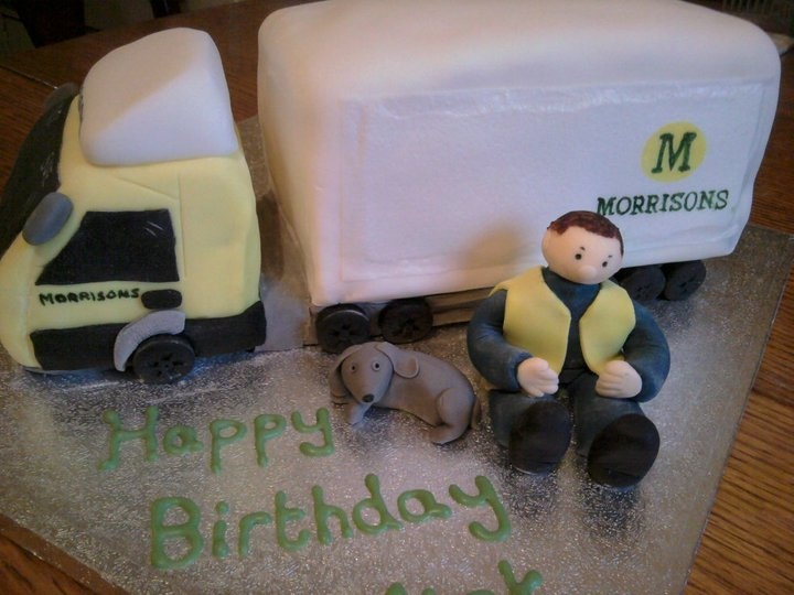 Lorry Cake Cake Ideas and Designs