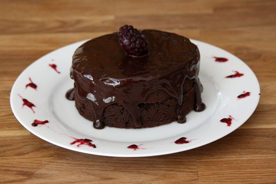 Almost Fudge Gateau | Desserts & Delicacies | Pinterest