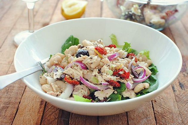Tuscan Tuna and White Bean Salad | Recipe