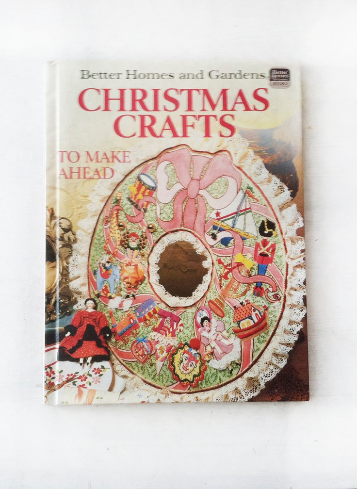 Christmas crafts book via etsy for How to sell crafts on etsy