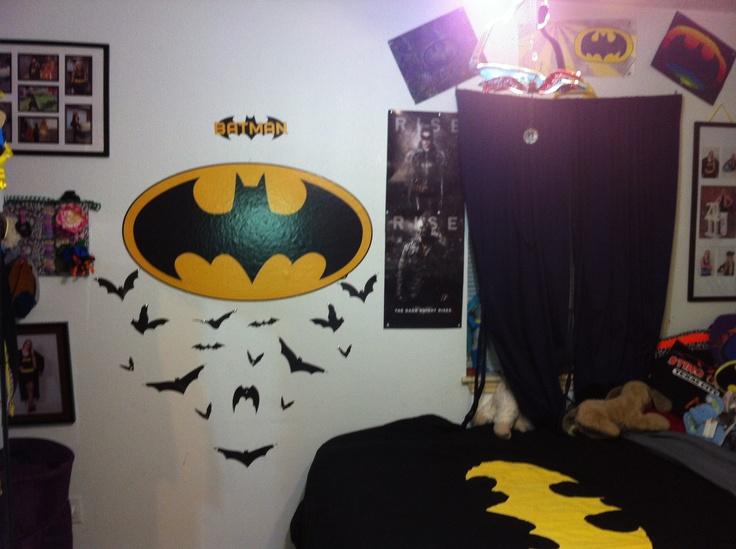 batman bedroom decorating pinterest