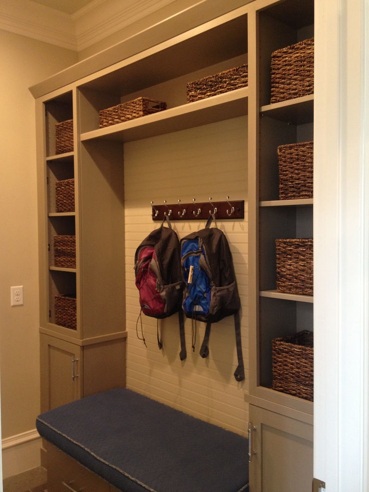 mud room shelves for the home