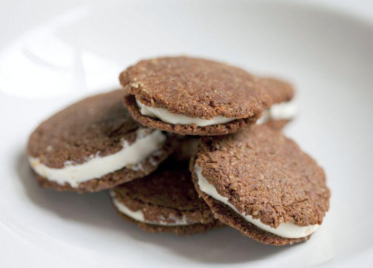 gluten free oreo, low carb oreo, sugar free oreo, healthy cookie