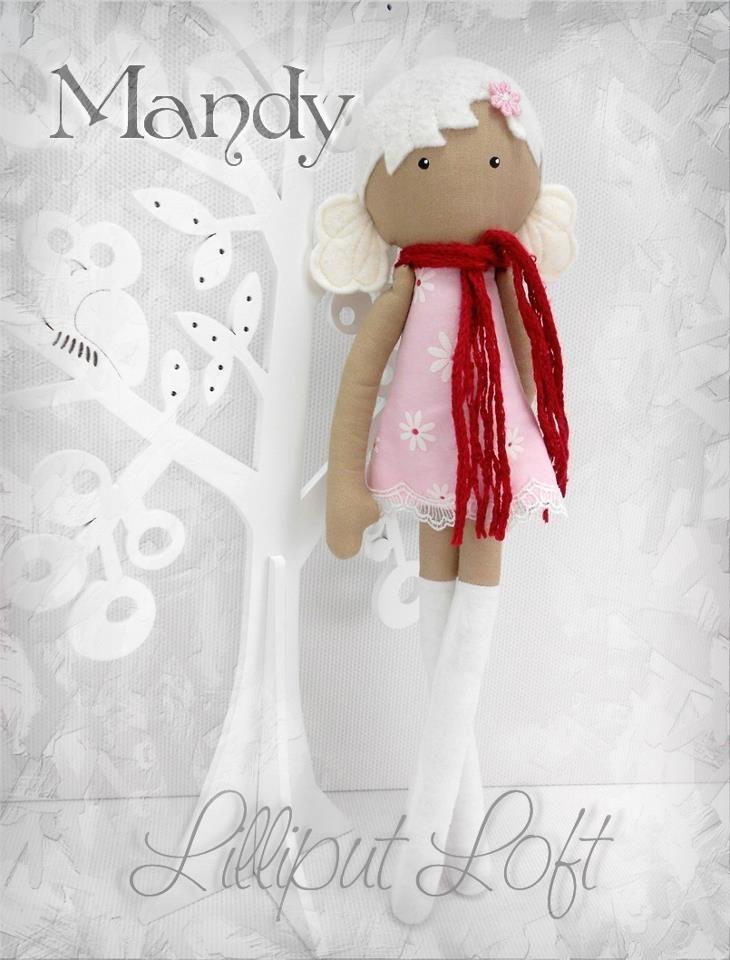 Мэнди, один из моих Mod диапазоне Довольно тарельчатого Dolls.  © лилипутов Лофт 2012