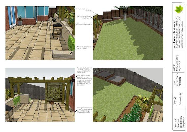 Sketchup garden design sketchup pinterest for Sketchup landscape design