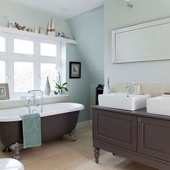 tranquil bathroom for the home