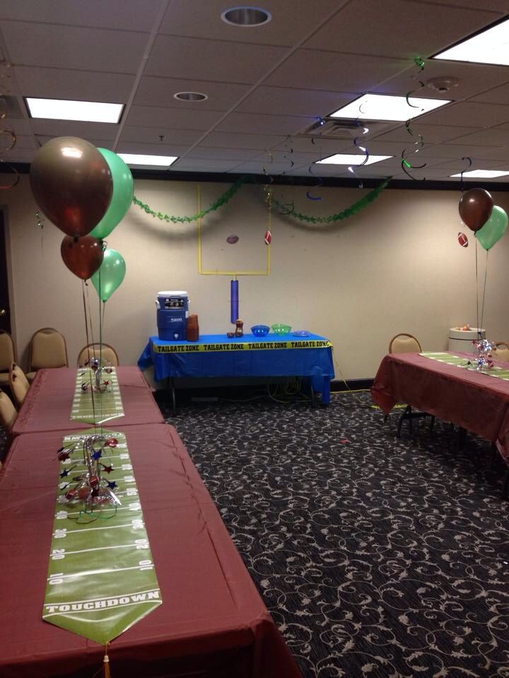 football theme baby shower decorations baby dwyer shower pinterest