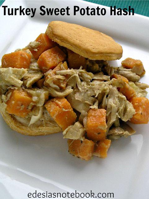 Turkey Sweet Potato Hash | Edesia's Notebook Recipes | Pinterest