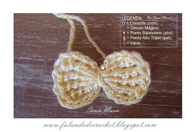Laco de croche | Trabalhos manuais, pontos, ideias | Pinterest