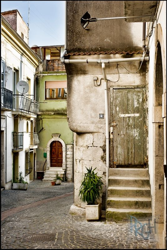 Oliveto Citra, Southern Italy