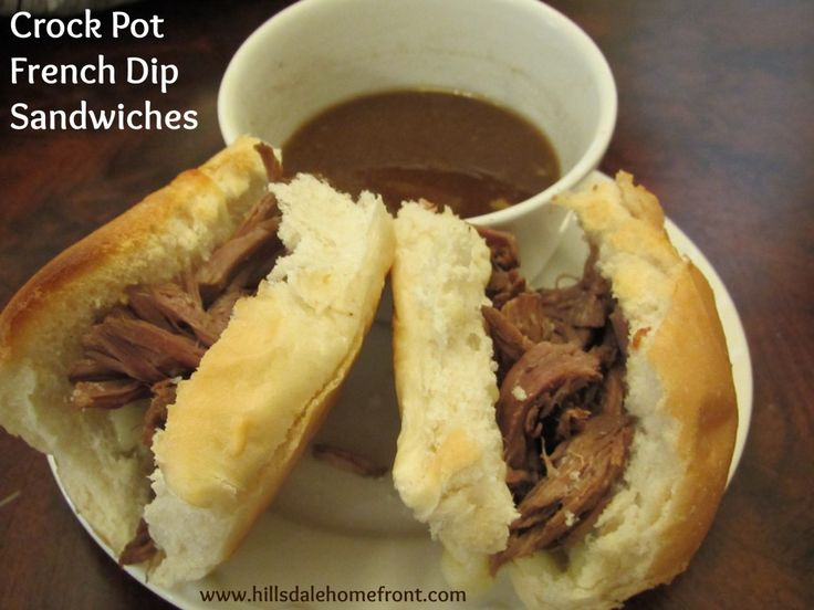 Crock Pot Spicy French Dip Sandwiches | Recipe