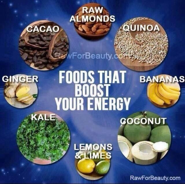 foods that boost your energy must get healthy