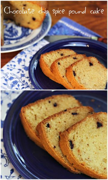 Chocolate Chip Spice Pound Cake Recipe, For Julia Child's ...
