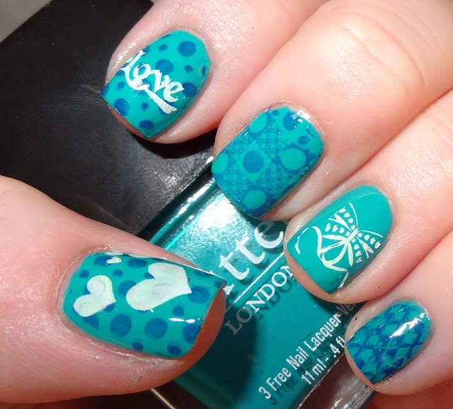 Nail designs for baby boy : It s a boy baby nails