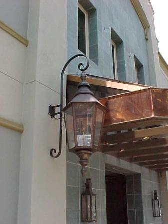 gas lanterns from bevolo lighting in new orleans. Black Bedroom Furniture Sets. Home Design Ideas