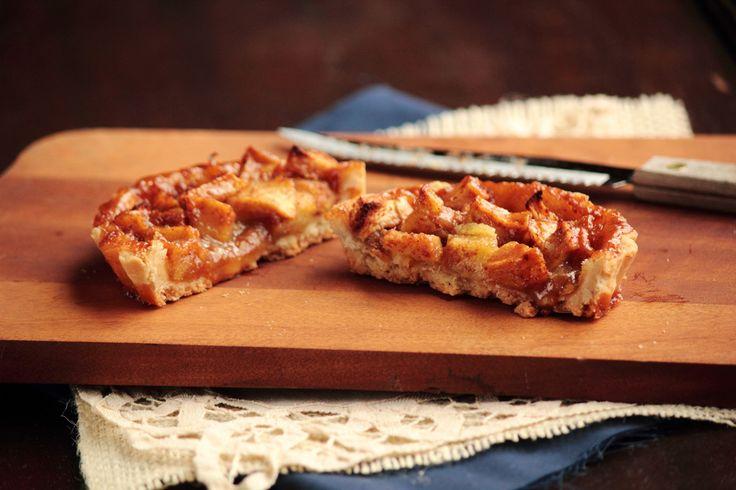 Caramel Apple Tart Recipe | Food I wanna eat | Pinterest
