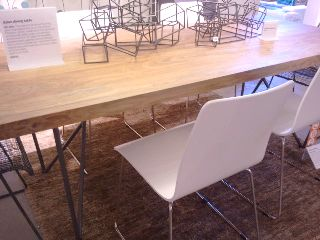 Girl Boy A House Cb2 Dylan Dining Table