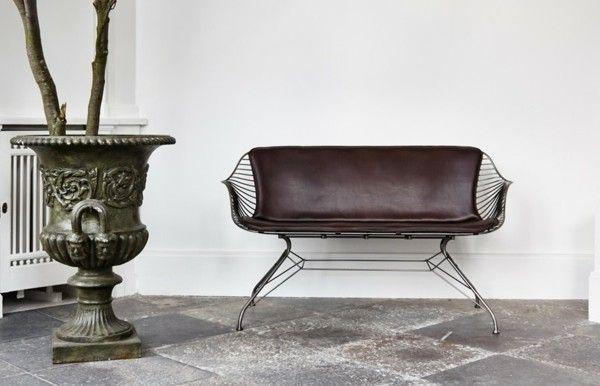 Zweisitzer-Sofa-Design-Möbel Interieur Design Pinterest