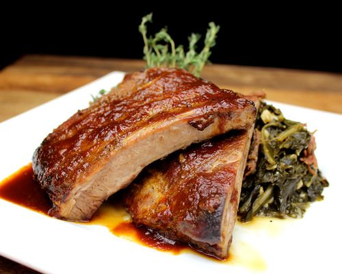 Baby Back Ribs with Orange Ginger Glaze: Roasted and braised BBQ baby ...