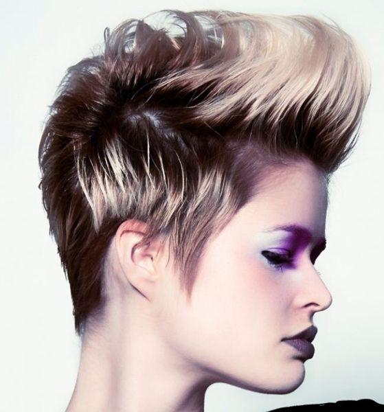 Estilo de peinados Punk