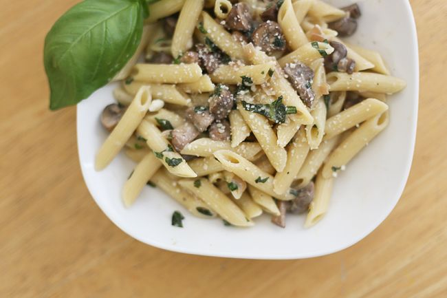Penne in Mascarpone Cheese Sauce | Pink Pumps + Pasta | Pinterest