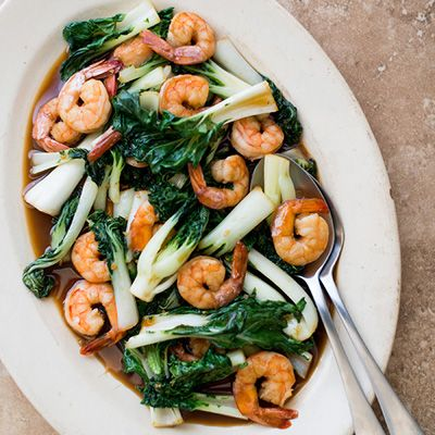 bok choy stir fry http www delish com recipefinder teriyaki shrimp bok ...